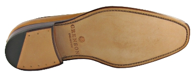 Leather Stitched Aloft Sole