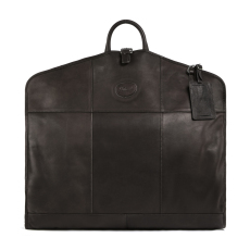 Ashwood Leather 8145 Folding Suit Carrier