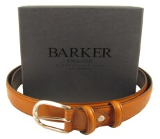 Barker Brogue Belt Cedar