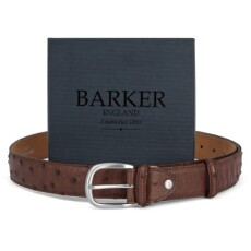Barker Ostrich leather Belt