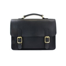 British Belt Company Kingston Satchel Black