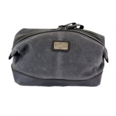 British Belt Company Langdale Washbag Carbon