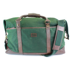 British Belt Company Langdale Weekender Alpine Green