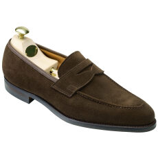 Crockett and Jones Sydney Dark Brown Suede