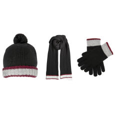 Dents Mens Knitted Hat Scarf  and Gloves Set