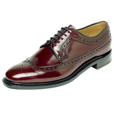 Edward and James Anthony Burgundy Leather Sole