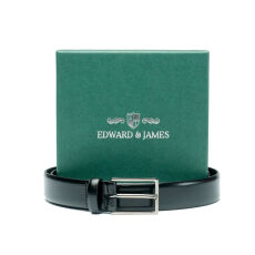 Edward and James High Shine Leather Belt