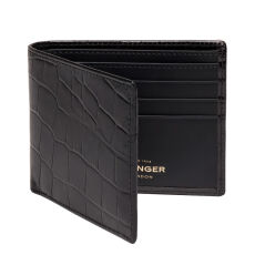 Ettinger Croco Billfold Wallet with 6CC CC030CJR