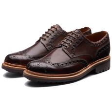 Grenson Archie C  Dark Brown HP