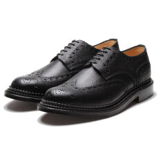 Grenson Archie Triple Welt Black Grain