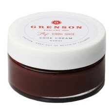 Grenson Burgundy Wax Cream