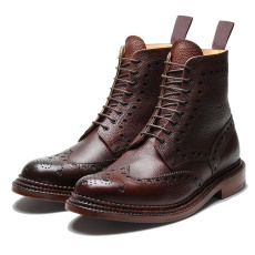 Grenson Fred Dark Brown Triple Welt