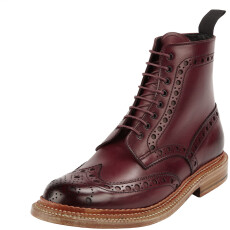 Grenson Fred Triple Welt Bordeaux