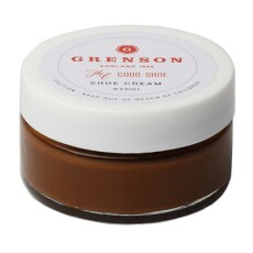 Grenson Dark Brown Wax Cream