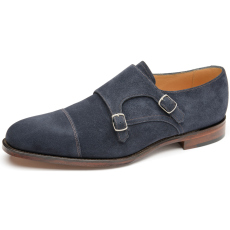 Loake Cannon Navy Suede