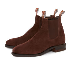 RM Williams  Comfort Craftsman Suede Cola