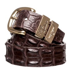 RM Williams CB660.41.  Crocodile Leather Belt