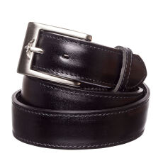 RM Williams CB492.02. Black Yearling Belt