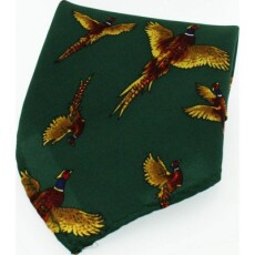 Soprano Accessories Forest Green Flying Pheasant
