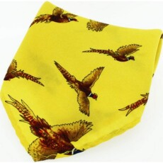 Soprano Accessories Gold Flying Pheasant