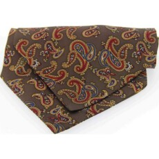 Soprano Accessories Large Brown Paisley
