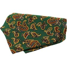 Soprano Accessories Large Forest Green Paisley