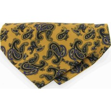 Soprano Accessories Large Mustard Paisley