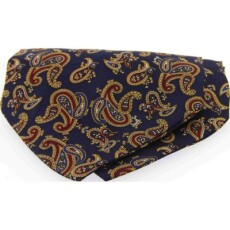 Soprano Accessories Large Navy Paisley