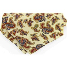 Soprano Accessories Large Pastel Yellow Paisley