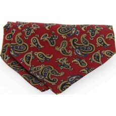 Soprano Accessories Large Red Paisley