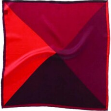Soprano Accessories Red Silk Multi-Shade