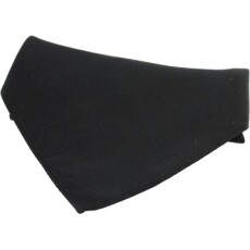 Soprano Accessories Black Satin Silk Handkerchief