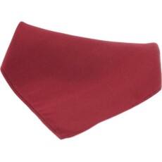 Soprano Accessories Wine Satin Silk Handkerchief