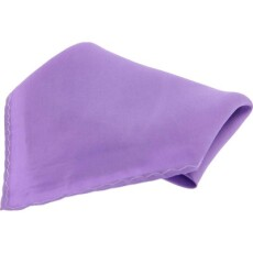 Soprano Accessories Lilac Satin Silk Handkerchief
