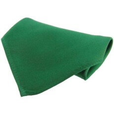 Soprano Accessories Emerald Satin Silk Handkerchief