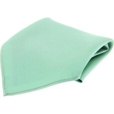 Soprano Accessories Mint Satin Silk Handkerchief