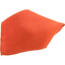 Soprano Accessories Burnt Orange Satin Silk Handkerchief