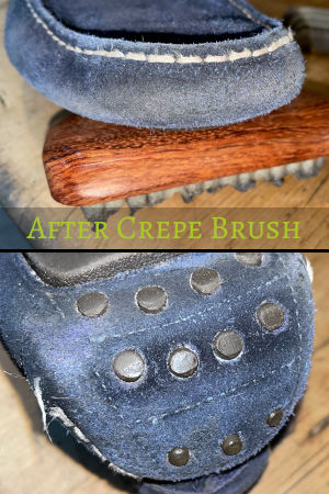 After the Crepe Brush